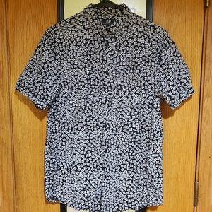 H&M Button Up Short Sleeve
